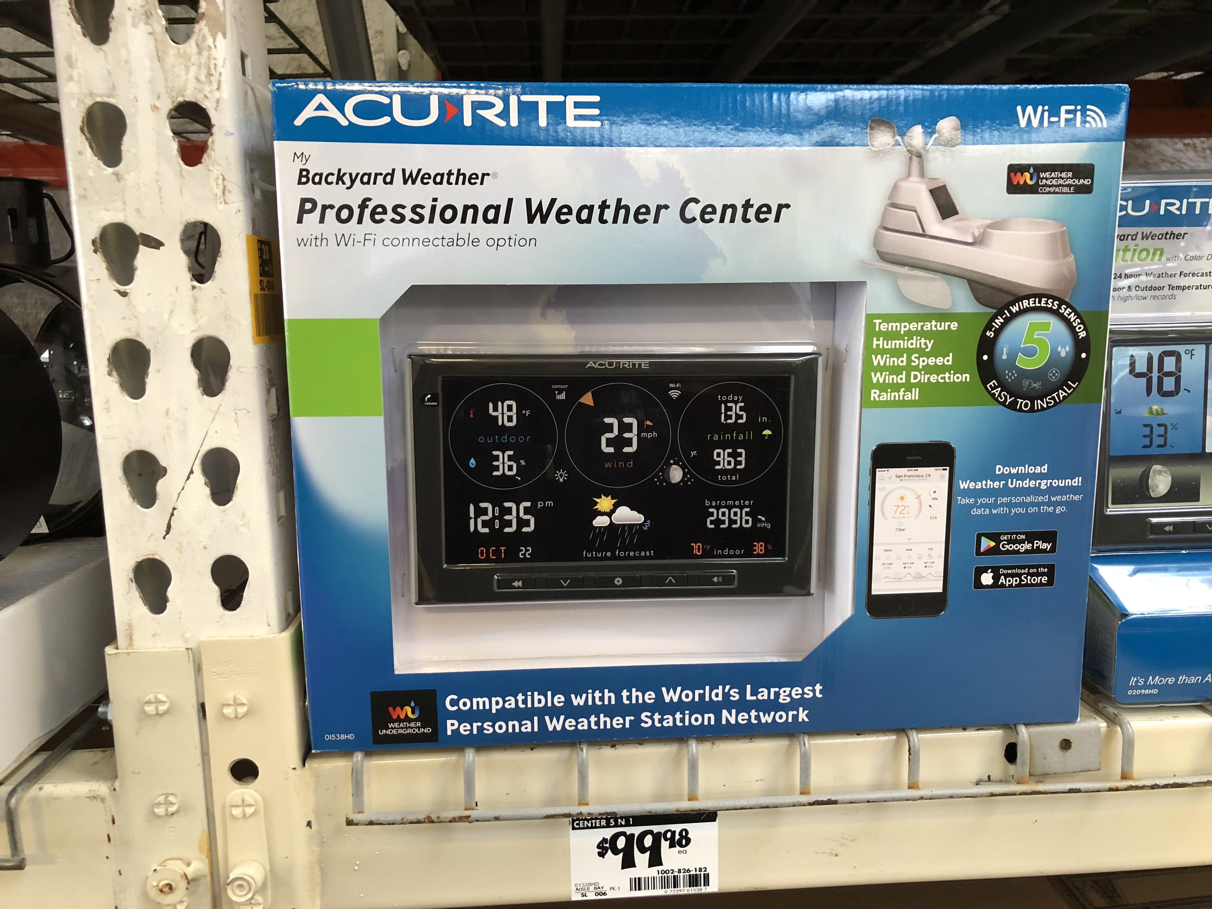 WXforum net - AcuRite Weather Stations